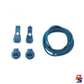 Coollace Cadarço Elástico - Azul Pacífico | CIA COOL