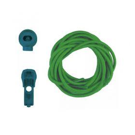 Coollace Cadarço Elástico - Verde | CIA COOL