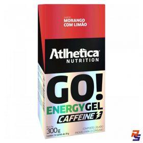 Gel de Carboidrato com Cafeína - Cx 10 unidades (Vários Sabores) | ATLHETICA