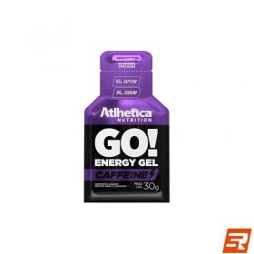 GO! Gel com Cafeína (50mg) - Unitário | ATLHETICA