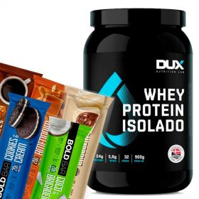 Kit Max Protein (Whey Isolado e Bold Snacks) | DUX