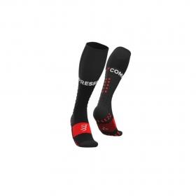 Meia Cano Longo - Full Socks V3 - Preta | COMPRESSPORT