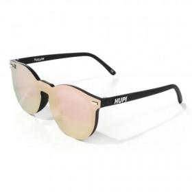 Óculos de Sol Tulum Preto com Lente Rosa | HUPI