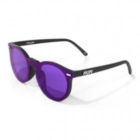 Óculos de Sol Tulum Preto com Lente Roxa | HUPI
