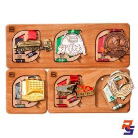 Porta Medalhas Magnético - Kit com 6 | HOBBY MEDALS