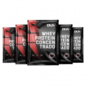 Kit 5 Sachês - Whey Concentrado | DUX