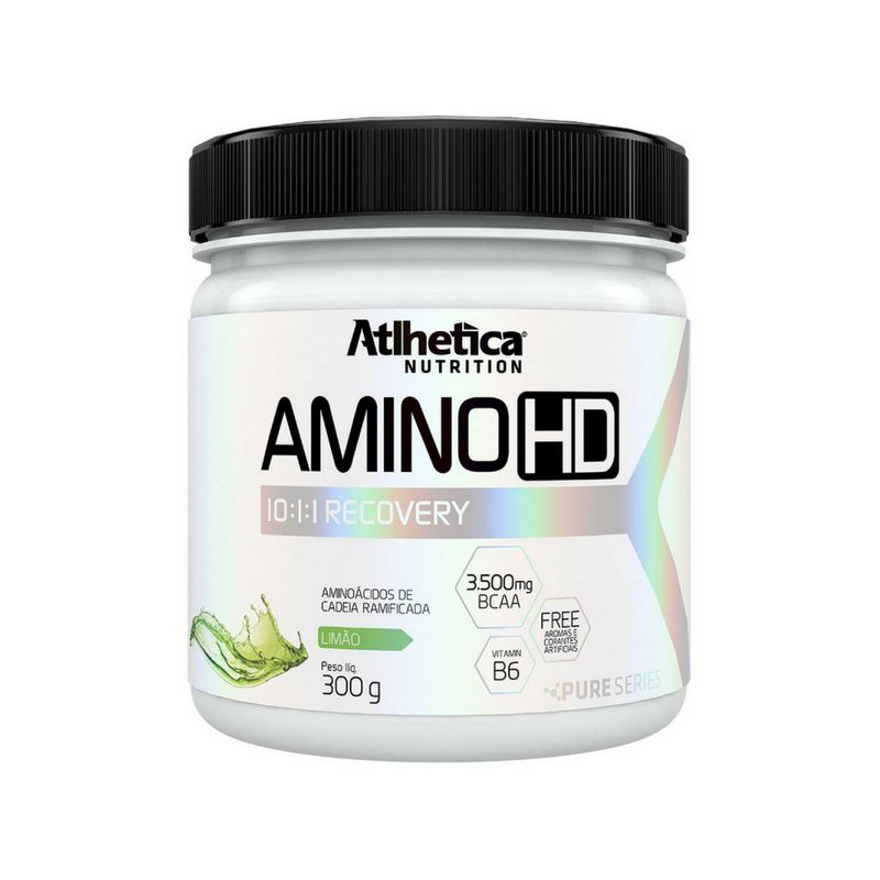 Amino HD 10:1:1 (BCAA em pó) | ATLHETICA