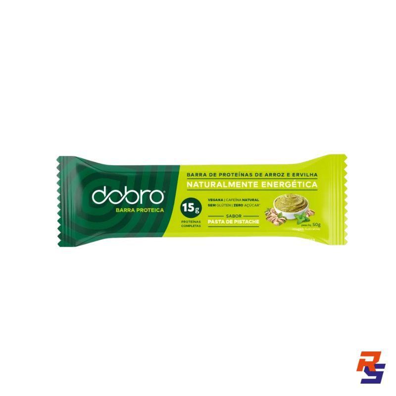 Barra de Proteína com Cafeína - Pasta de Pistache   DOBRO