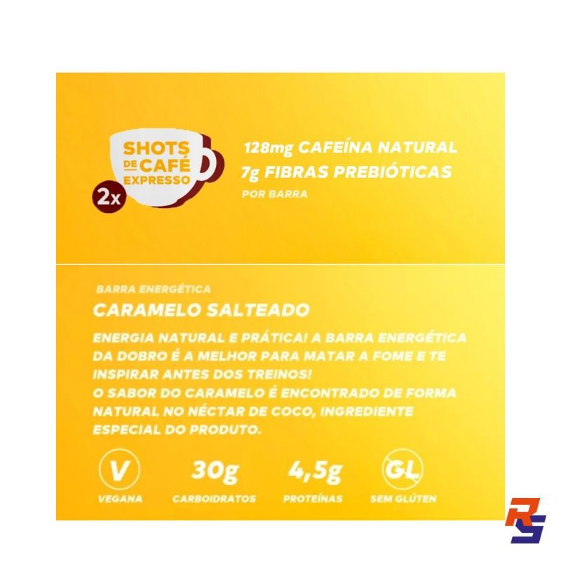 Barra Energética - Caramelo Salgado   DOBRO