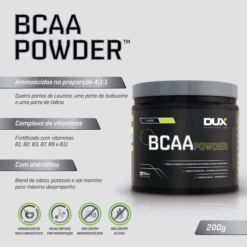 BCAA Powder 200g | DUX