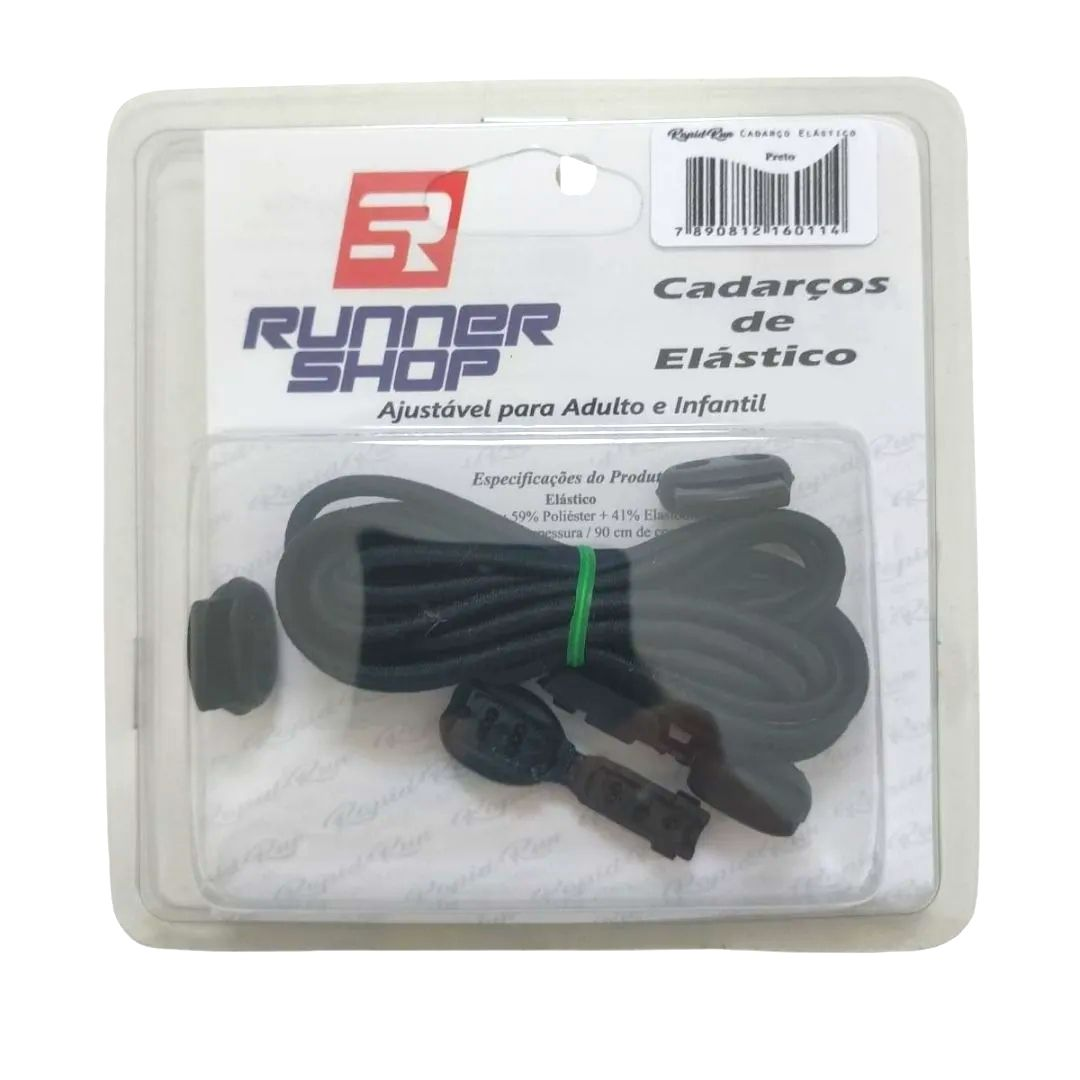 Cadarço Elástico Liso | RUNNER SHOP