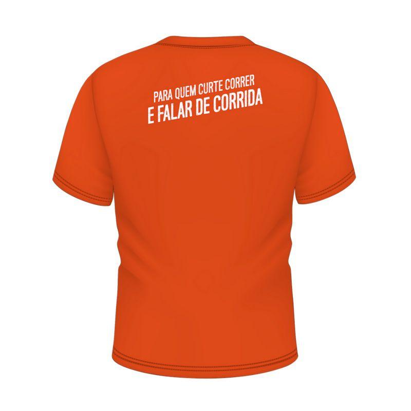 Camisa Laranja - Masculina | CANAL CORREDORES