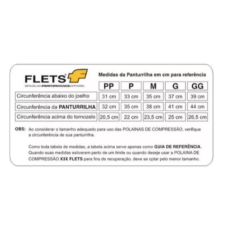 Canelito de Compressão - X3X | FLETS