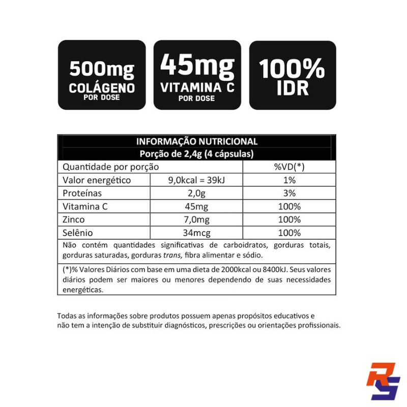 Colágeno Pro-F - 90 Cápsulas | BODYACTION