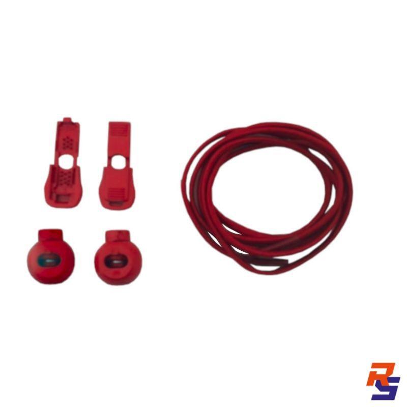 Coollace Cadarço Elástico - Vermelho | CIA COOL