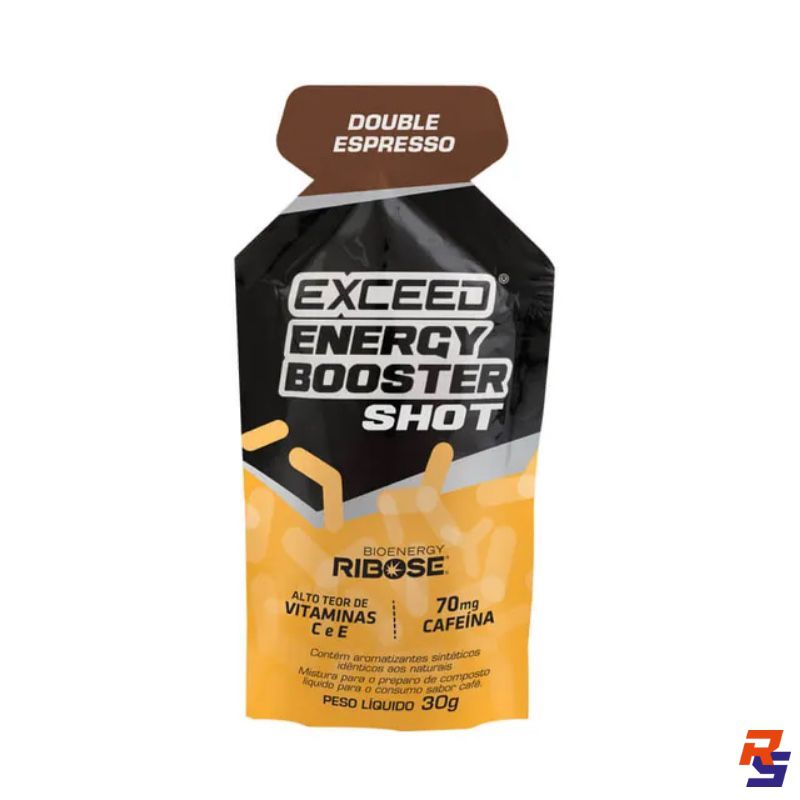 Gel de Carboidrato com Cafeína (70mg) | EXCEED