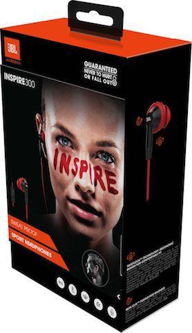 Fone de Ouvido Com Fio - Inspire 300 Red | JBL