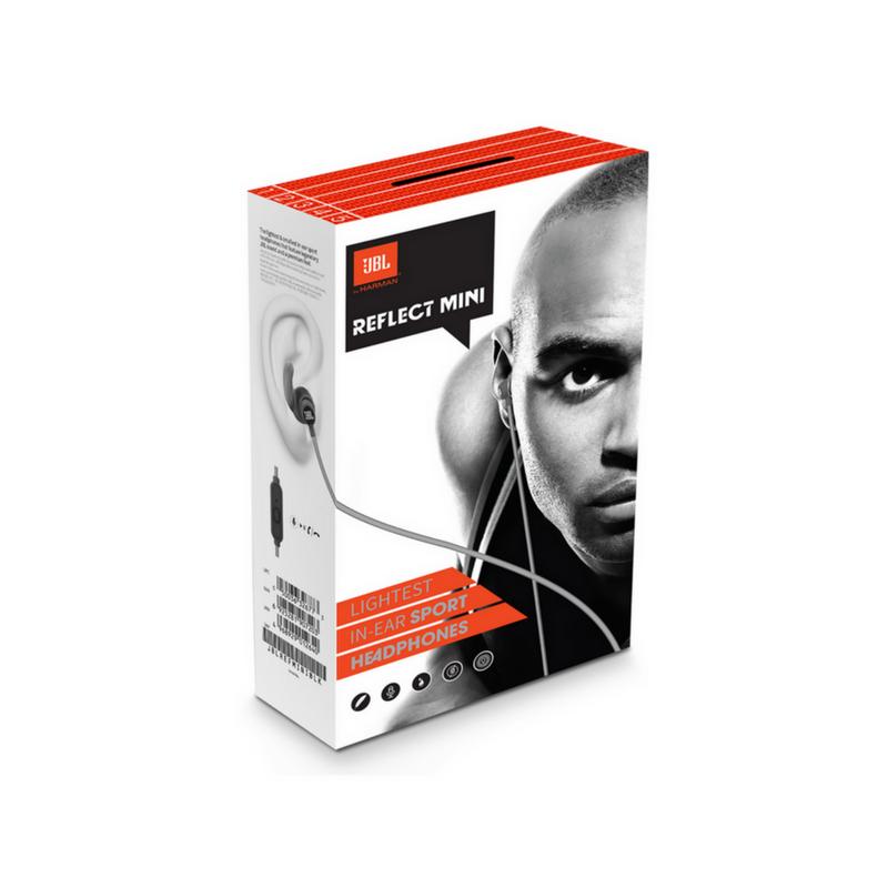Fone de Ouvido Com Fio - Reflect Mini Preto| JBL
