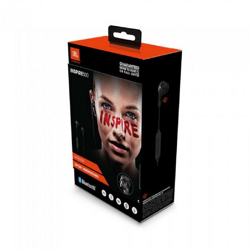 Fone de Ouvido Sem Fio - Inspire 500 Black Bluetooth | JBL