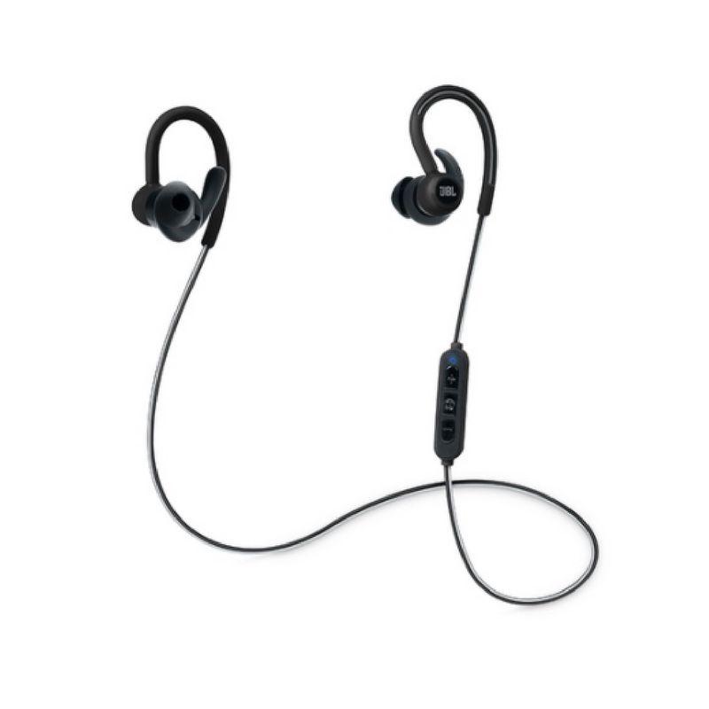 Fone de Ouvido Sem Fio - Reflect Contour Black Bluetooth | JBL
