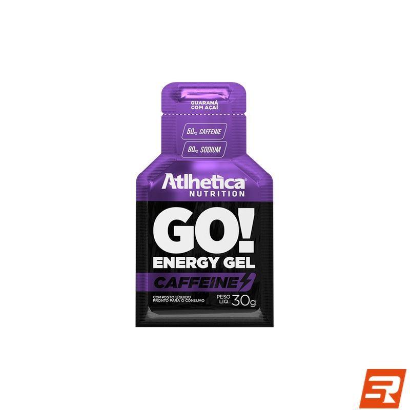 Gel de Carboidrato com Cafeína (50mg) - GO! | ATLHETICA