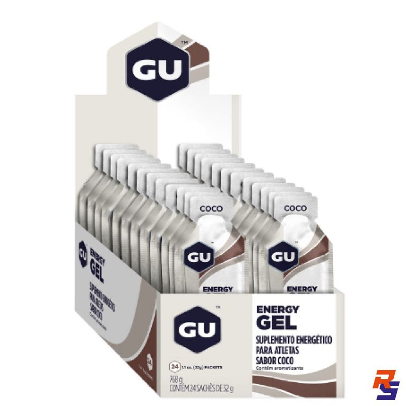 Gel de Carboidrato - Display 24 un. | GU Energy