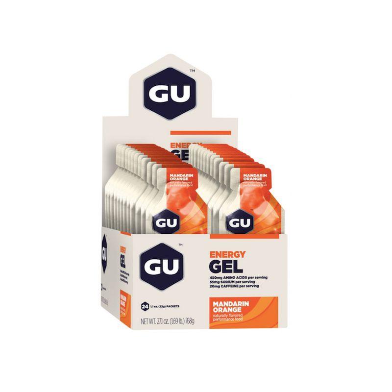 Gel de Carboidrato - Cx. 24 unidades (Vários Sabores) | GU Energy