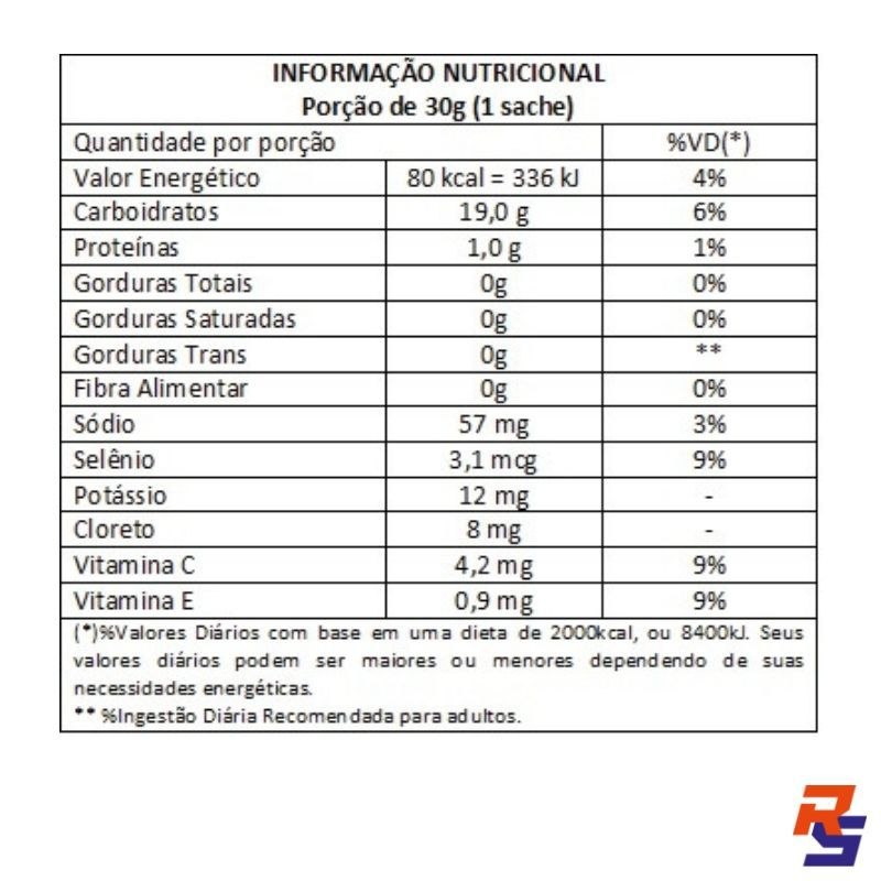 Gel de Carboidrato Energel Sem Cafeína - Unitário | BODYACTION