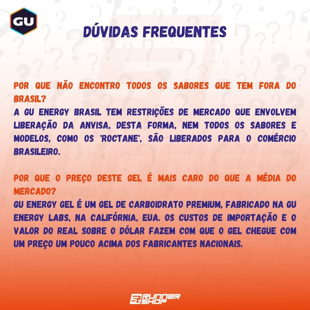 Gel de Carboidrato - GU Energy Gel | GU Energy