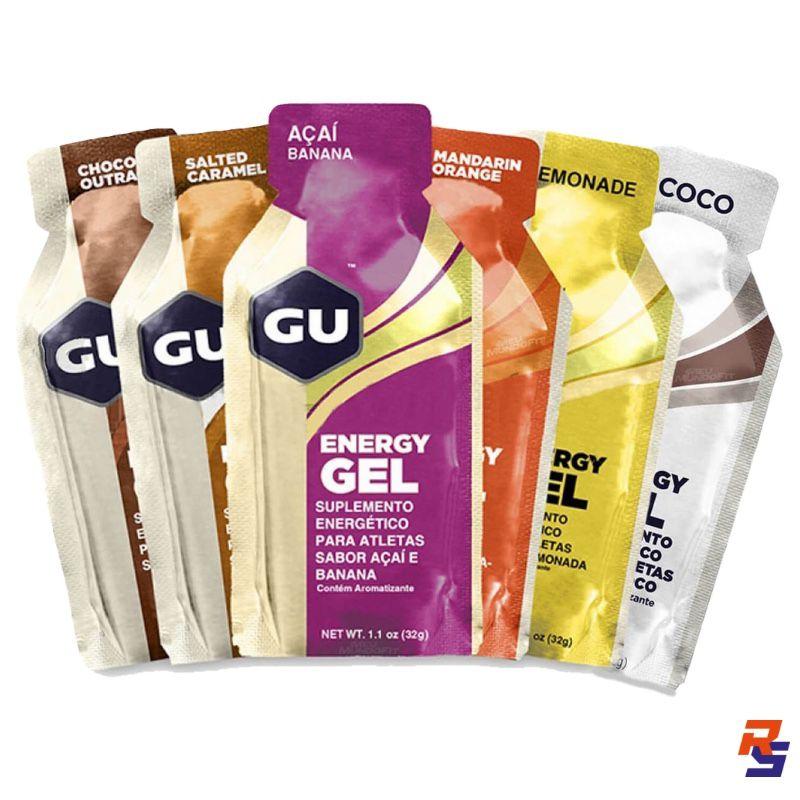Gel de Carboidrato - Unitário (Vários Sabores) | GU Energy