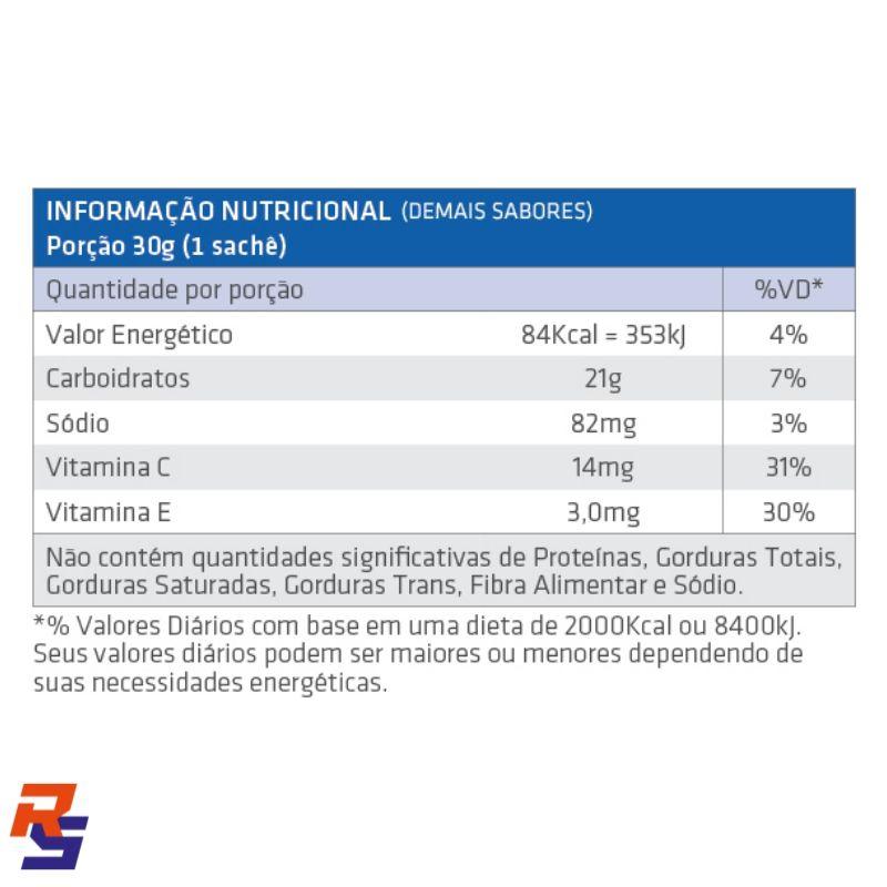 Gel de Carboidrato - Cx. 10 unidades (Vários Sabores)   EXCEED