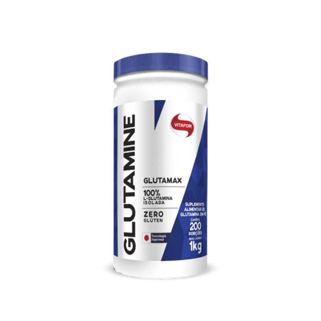 Glutamina - Pote 1000g | VITAFOR