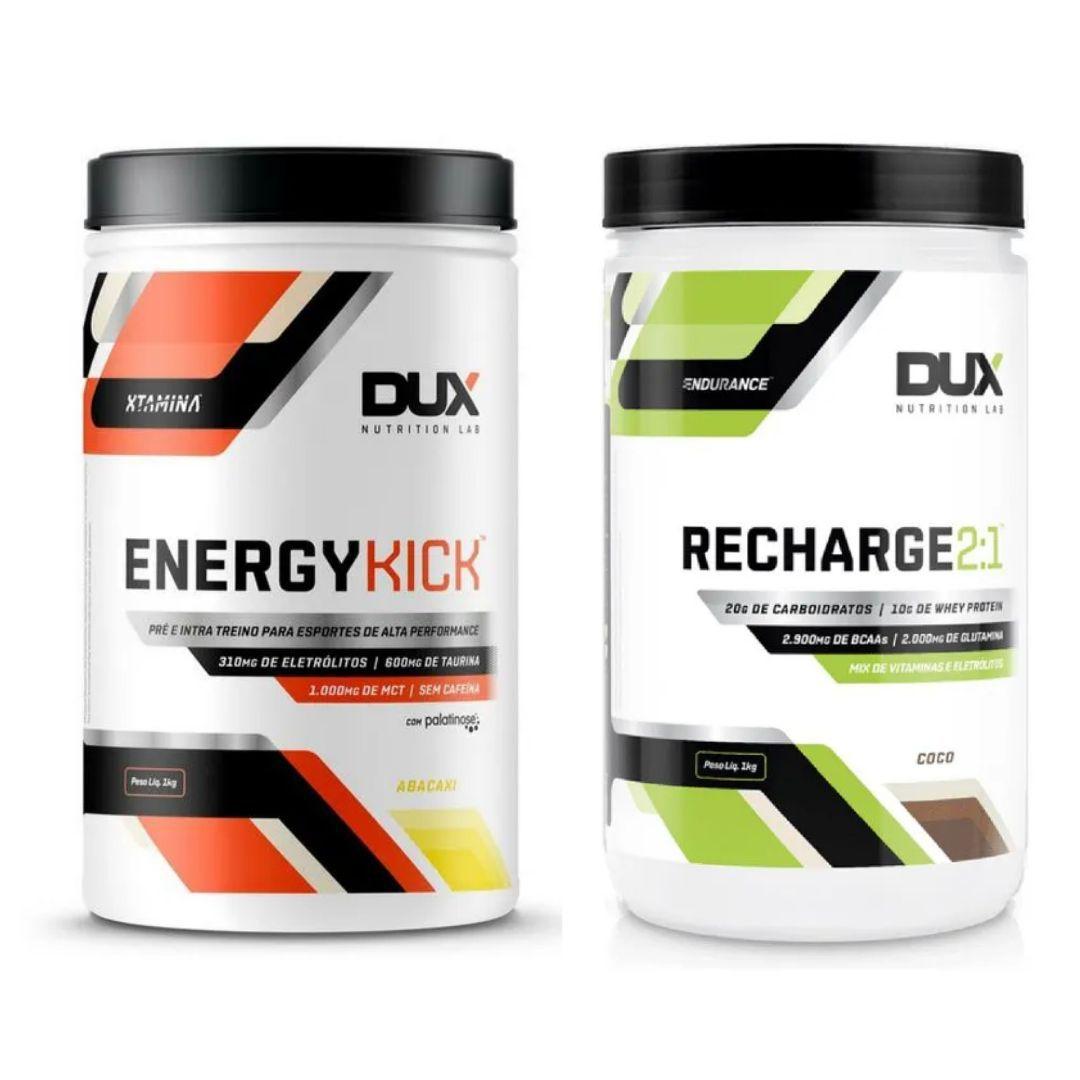 Kit Endurance (Energy Kick e Recharge) | DUX