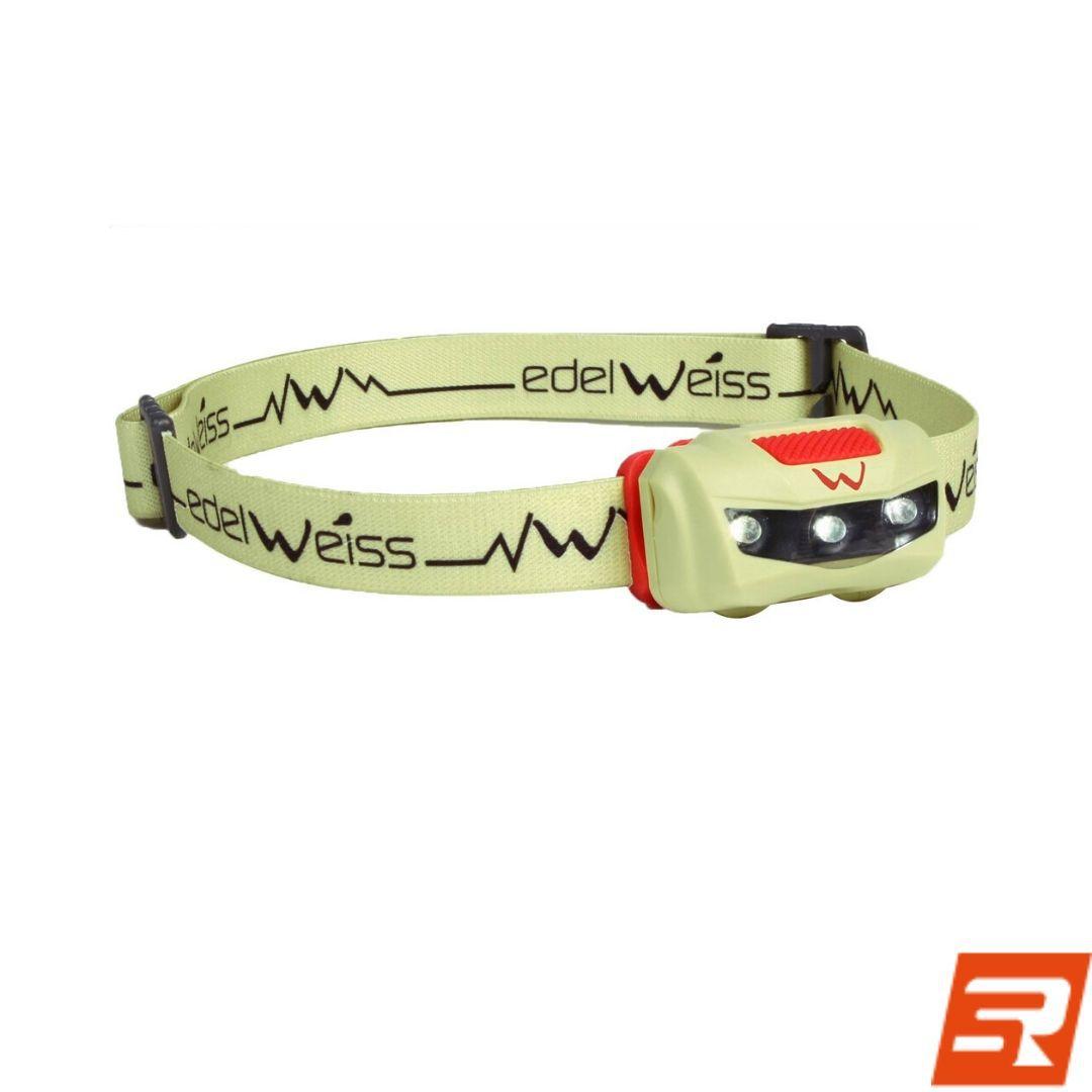 Lanterna de cabeça Polaris IPX6 | EDELWEISS