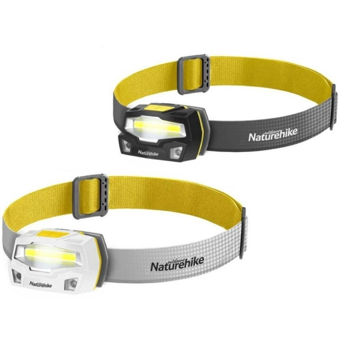 Lanterna de cabeça recarregável COB Outdoor IPX4 | NATUREHIKE