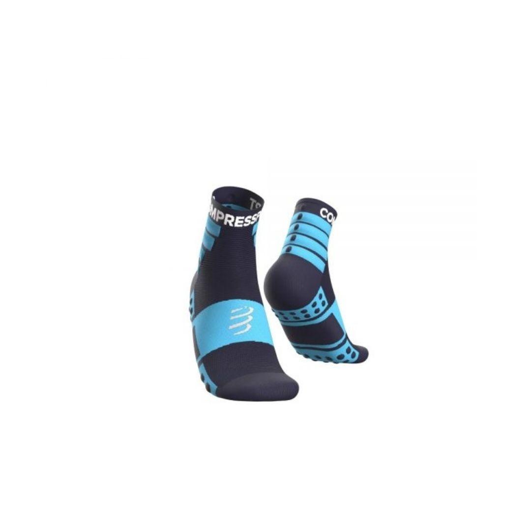 Meia Cano Médio - Pack com 2 pares - Azul | COMPRESSPORT