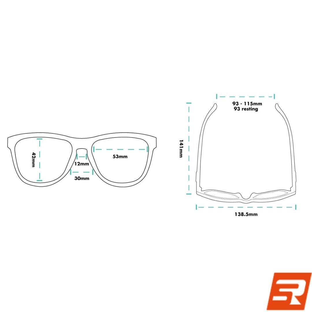 Óculos de Sol -  Charlie Couldn't Hack it in a Talkie | GOODR
