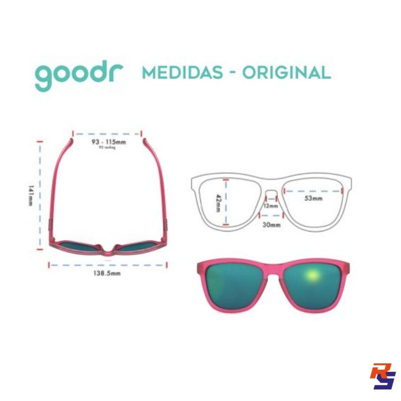 Óculos de Sol -  Glinda's Resting Witch Face | GOODR