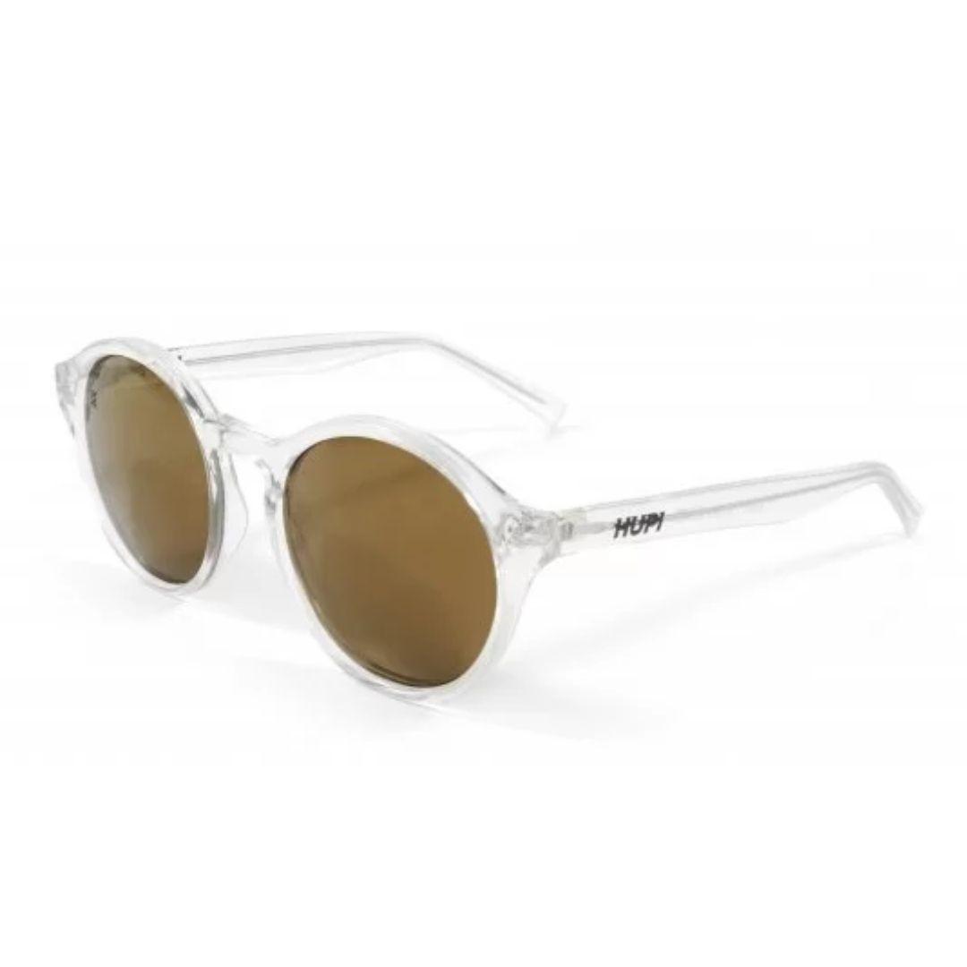 Óculos de Sol Kona - Cristal com Lente Dourada| HUPI
