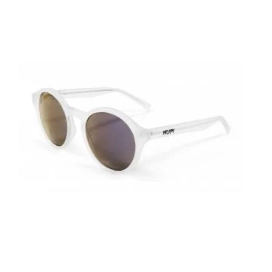 Óculos de Sol Kona - Cristal com Lente Roxa | HUPI