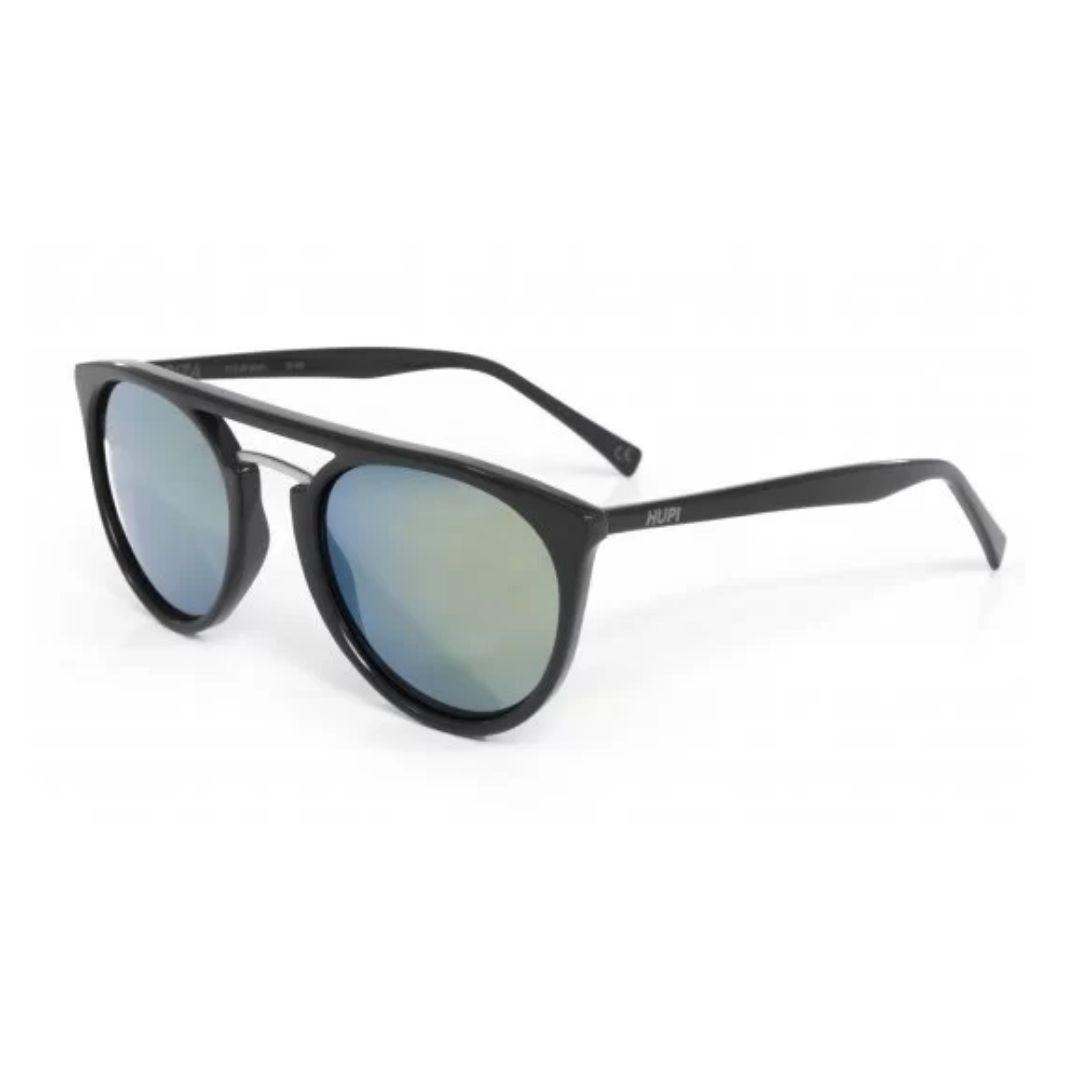 Óculos de Sol Preto com Lente Verde | HUPI