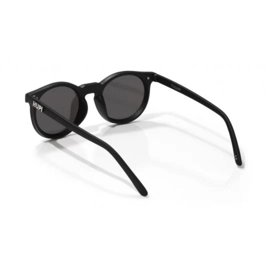 Óculos de Sol Tulum Preto com Lente Cinza | HUPI