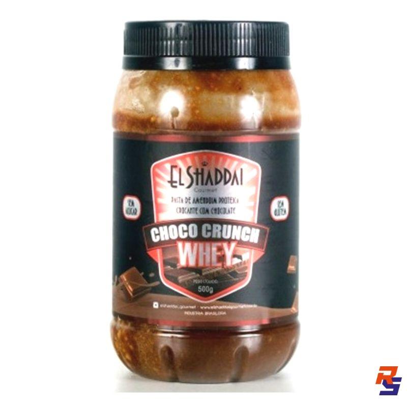 Pasta de Amendoim com Whey Protein   EL SHADDAI