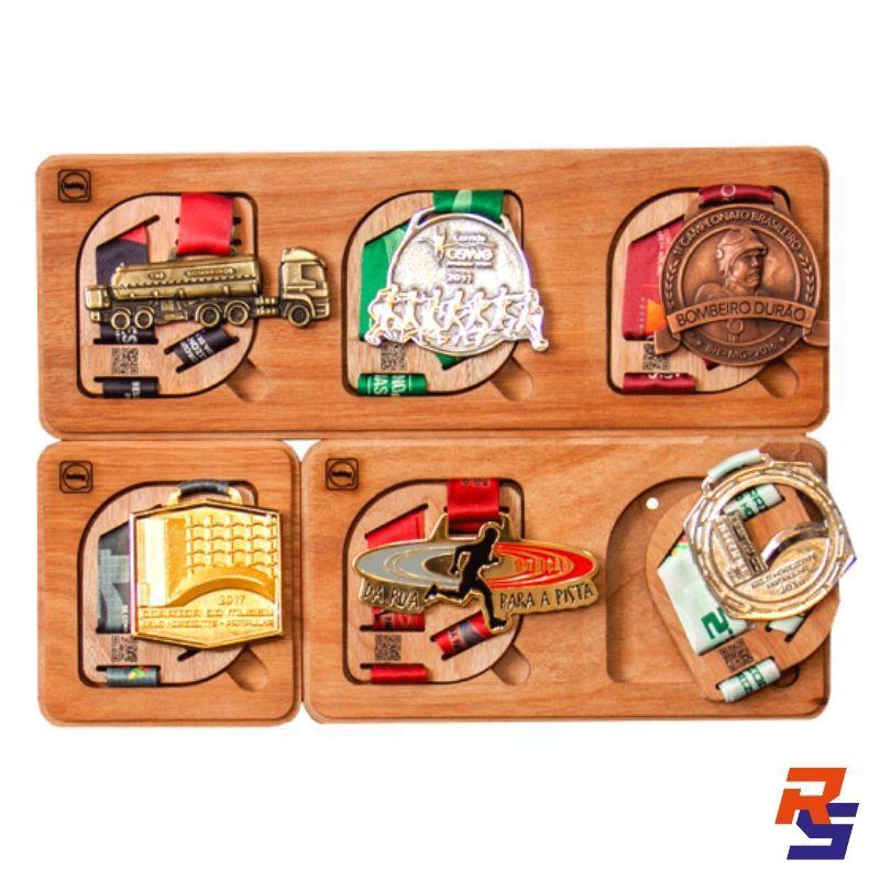 Porta Medalhas - Kit com 6 | HOBBY MEDALS