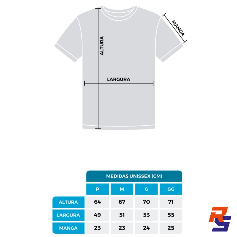 Camiseta de Corrida (Unissex) - Team Runner Shop | RS