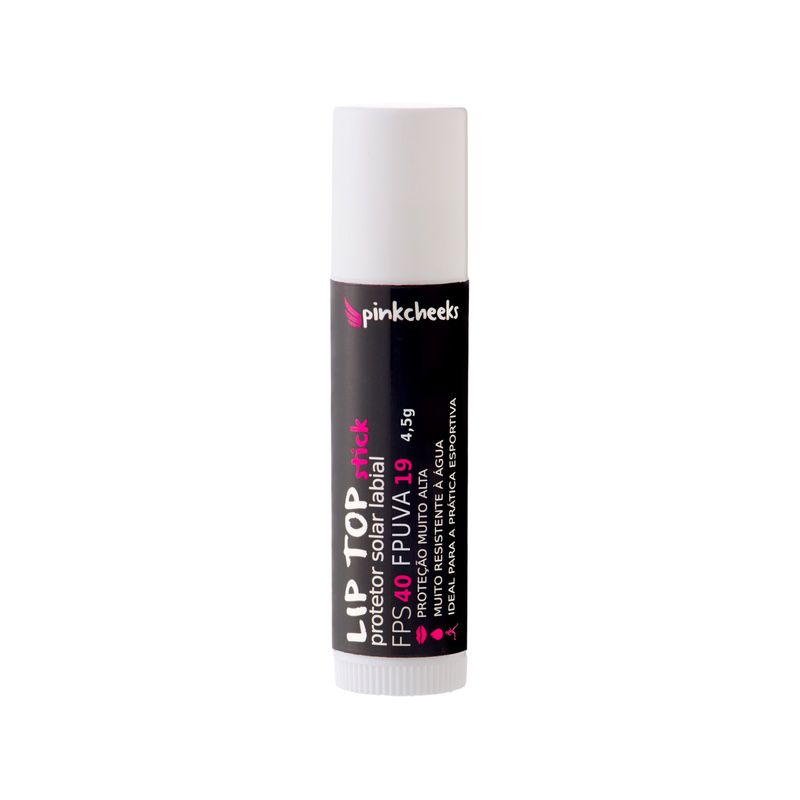 Protetor Labial - Lip Top Stick | PINK CHEEKS