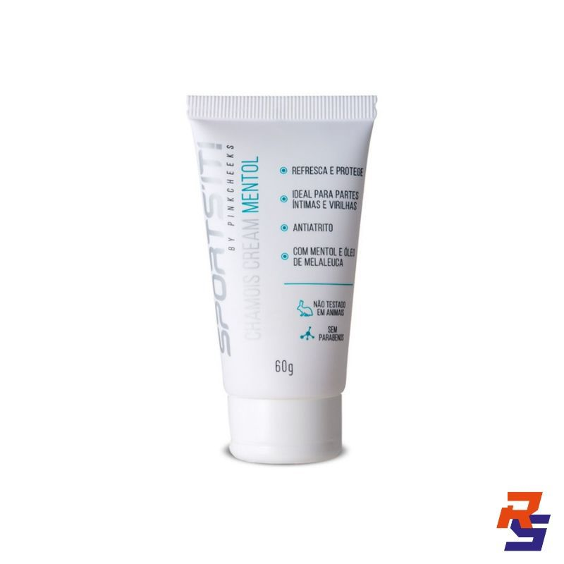 Antiassadura em Creme - Sports'it Chamois Cream Mentol | PINK CHEEKS