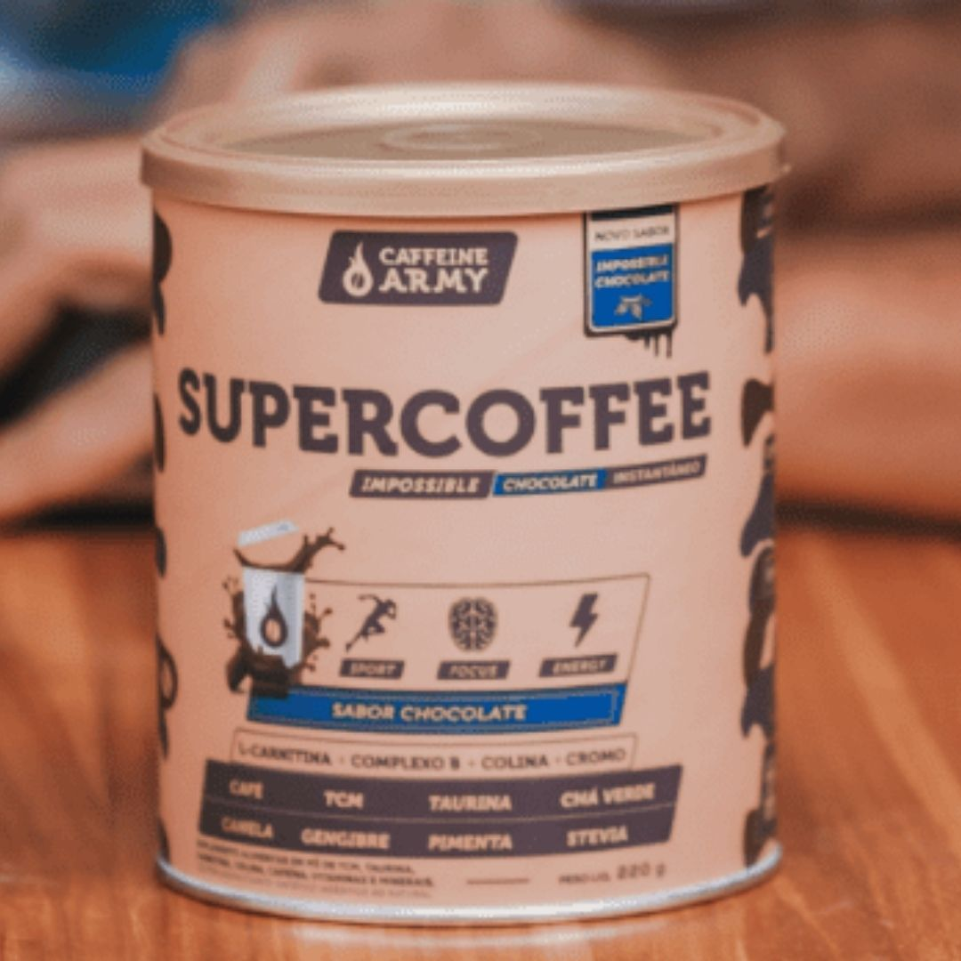 SuperCoffee Impossible Chocolate| CAFFEINE ARMY