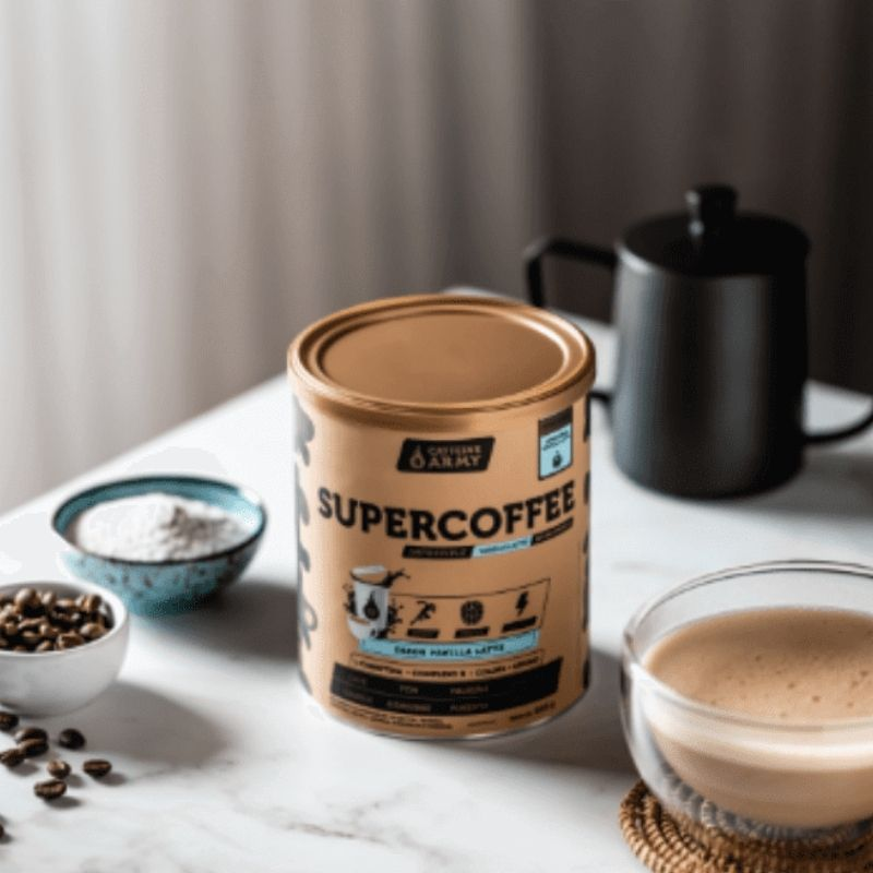 SuperCoffee Impossible Vanilla Latte | CAFFEINE ARMY