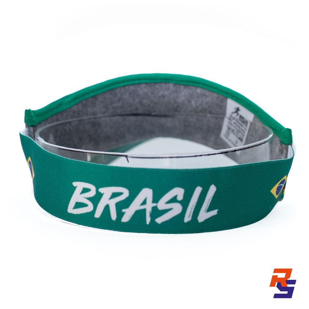 Viseira com Elásticos - Brasil| RUNLASTIC